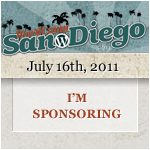 I'm Sponsoring WordCamp San Diego 2011