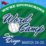 Brandon and Jeffrey are sponsoring WordCamp San Diego 2012
