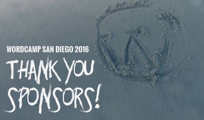 Thank Your WCSD16 Sponsors!